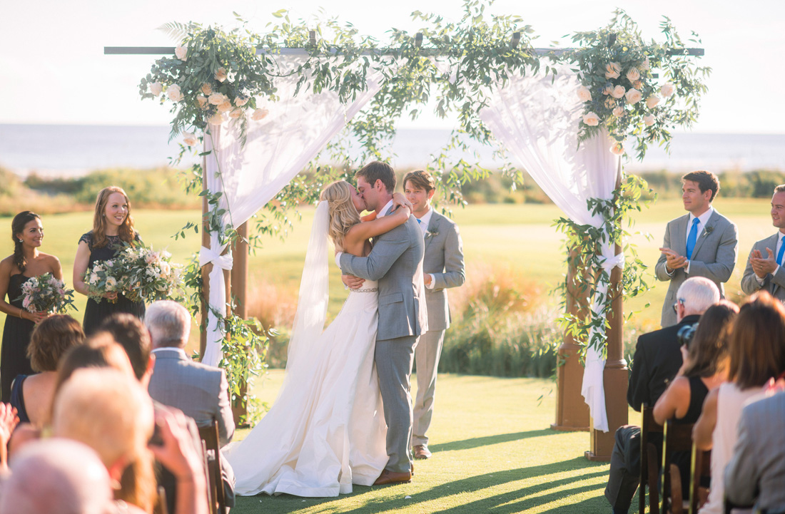 Fox Events Beautiful Fall Outdoor Wedding At Ocean Course